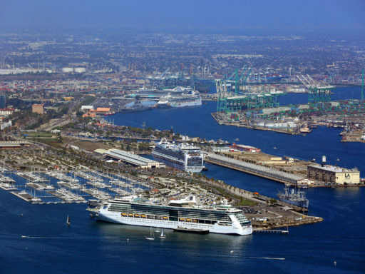 Ports of Los Angeles and Long Beach